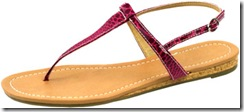 snake print t-strao sandals