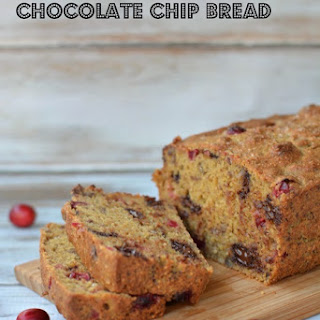 Gluten Free Cranberry and Chocolate Chip Bread