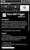 Screenshot of Auto WiFi Toggle