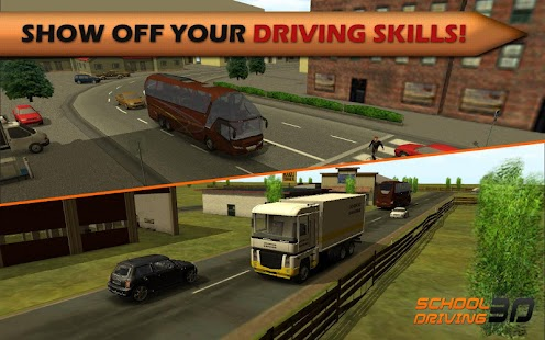 School Driving 3D APK for Kindle Fire