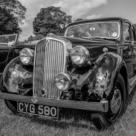 Vintage car by Simon Sweetman - Transportation Automobiles ( austin, car, vintag, rover, british )