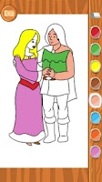 Screenshot of Sleeping Beauty Coloring Book