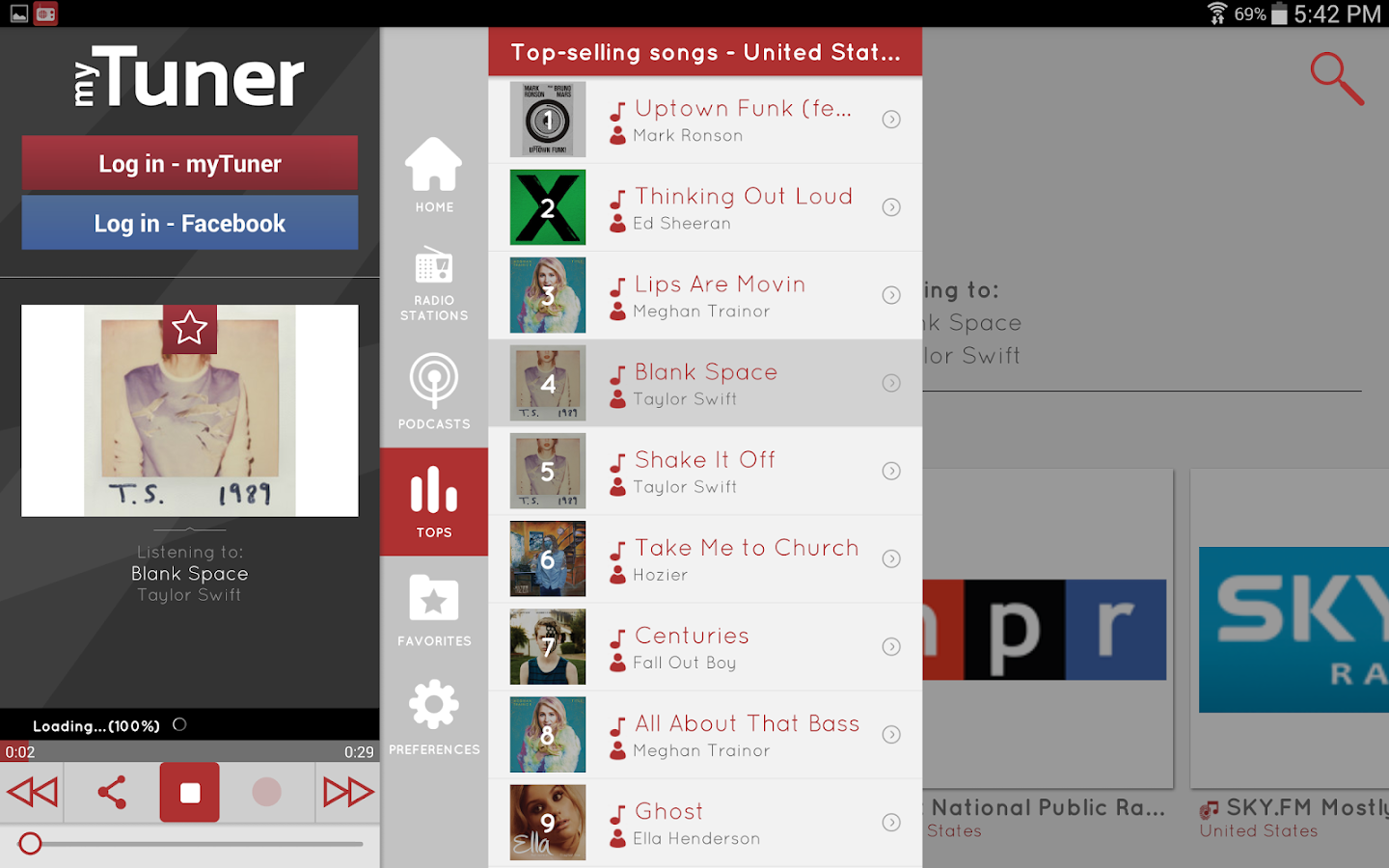 myTuner Radio Pro Screenshot 7
