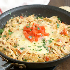 Chicken Tortilla Casserole for Two