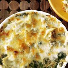Paula's Hot Spinach and Artichoke Dip