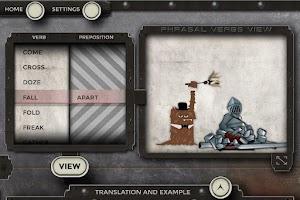 Screenshot of Phrasalstein Phone