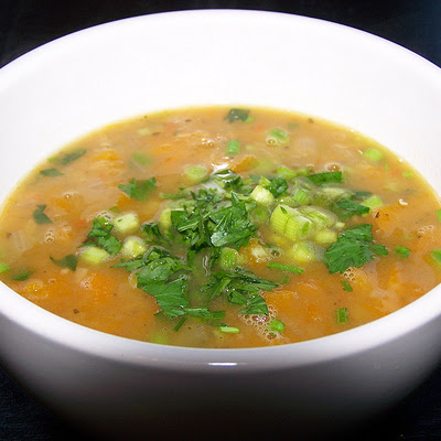 A Spring take on minestrone