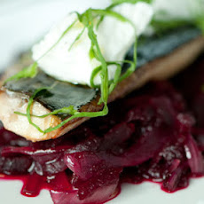 Tea-smoked Mackerel With Beetroot Stew And Fresh Curd