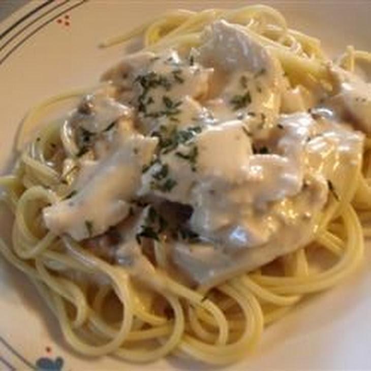 Slow Cooker Italian Chicken Alfredo Recept | Yummly