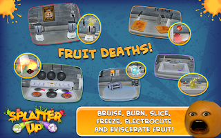Screenshot of Annoying Orange: Splatter Free
