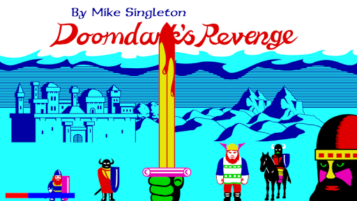 Doomdarks Revenge - screenshot