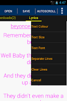 Screenshot of Music Lyrics & Mp3 Downloader