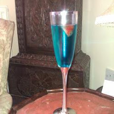 Bellini Blue Cocktail