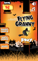 Screenshot of Flying Granny
