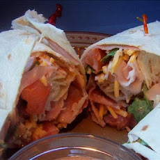 Barbecue Ranch Club Wraps