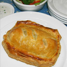 Rice and Salmon Pie
