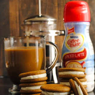Spiced Latte Ginger Sandwich Cookies