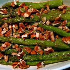 Asparagus With Spicy Nutmeg Butter