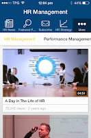 Screenshot of HR Management