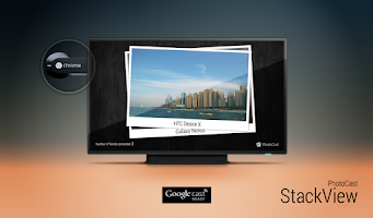 Screenshot of PhotoCast for Chromecast