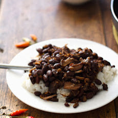 Crockpot Pork Adobo with Black Beans