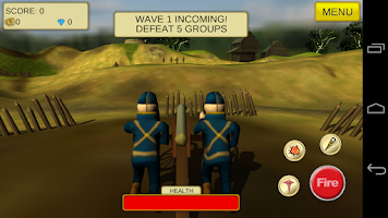Screenshot of Cannon Shooter : US Civil War