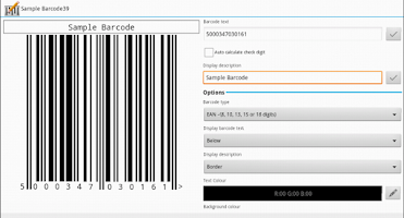 Screenshot of Barcode Architect