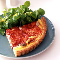 Tomato Blue Cheese Tart