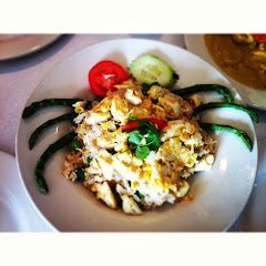 Special: Gluten-Free Blue-Lump Crab Fried Rice