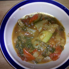 Italian-Inspired Vegetable Soup With Turkey Sausage (Ww Inspired