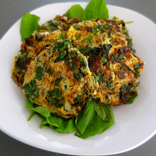 Paleo Spaghetti Squash Cakes Two Ways