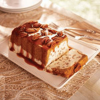 Butter Pecan Ice Cream Loaf