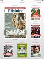 Screenshot of L'Histoire Magazine