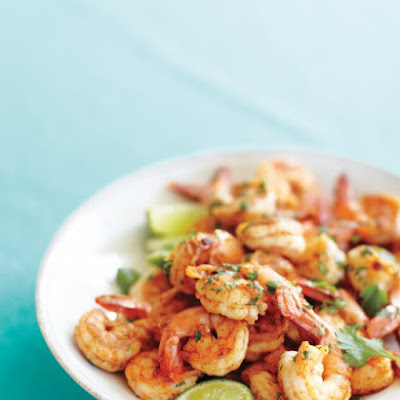 Spicy Shrimp with Lime and Cilantro