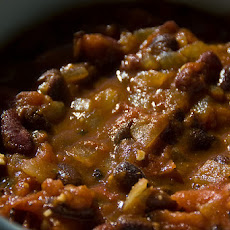 Spicy Vegan Texas Black Bean Chili