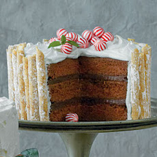 Peppermint-Hot Chocolate Cake