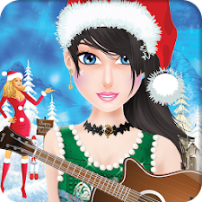 Rock Star Girl Christmas Games