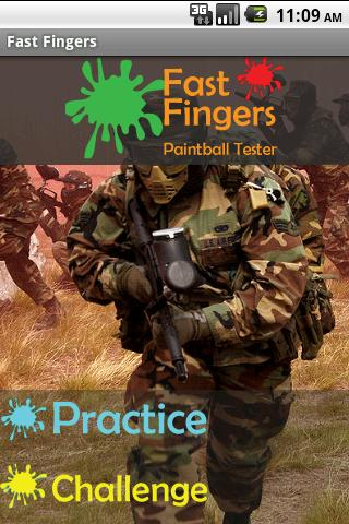 Fast Fingers Paintball Speed