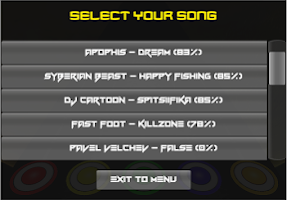 Screenshot of Dubstep Hero