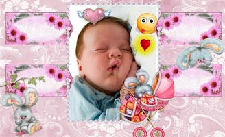 Screenshot of Baby Frame Collages