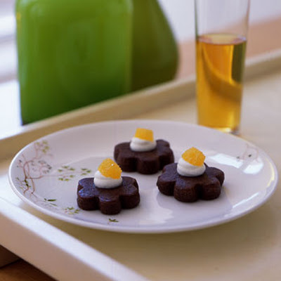 Chocolate Orange Petits Fours