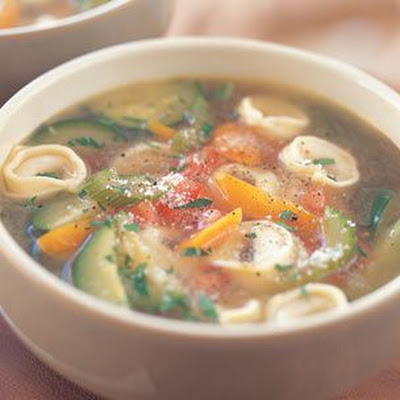 Tortellini & Vegetable Soup