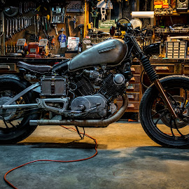 Yamaha Virago Bobber by Christain Jones - Transportation Motorcycles