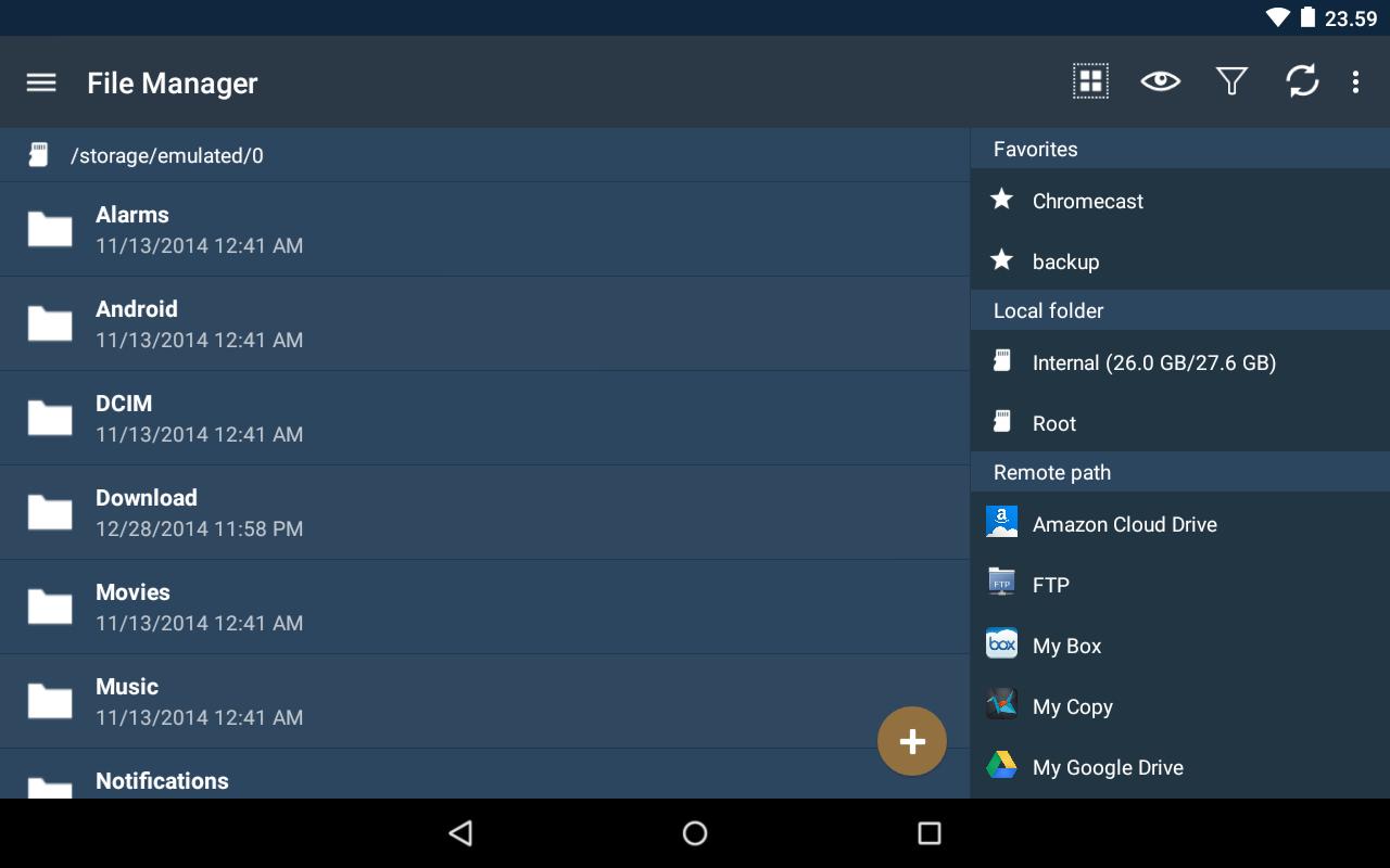 FolderSync – Screenshot