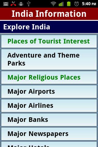 IndiaInfo - India Information
