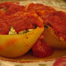 Stuffed Shells Florentine (low Fat)