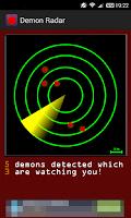 Screenshot of Demon Radar