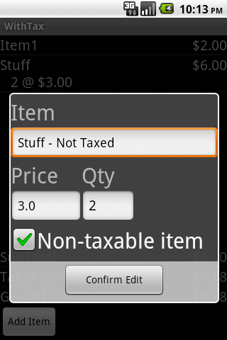With Tax - Beta