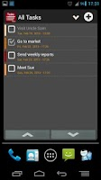 Screenshot of Task List - To Do list Widget