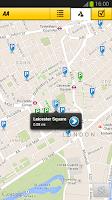 Screenshot of AA Parking